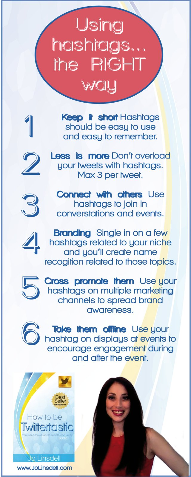 using hashtags the right way infographic2